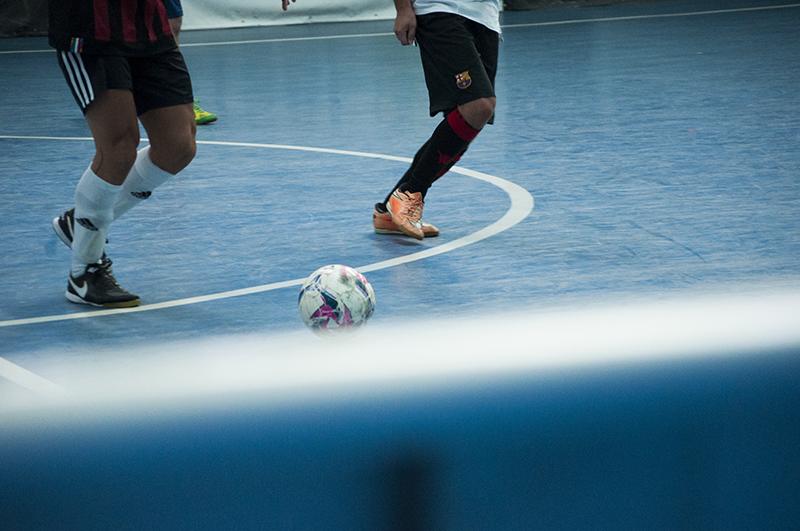 A rhapsody in Futsal - A sports game is strangely jazz reminiscent.