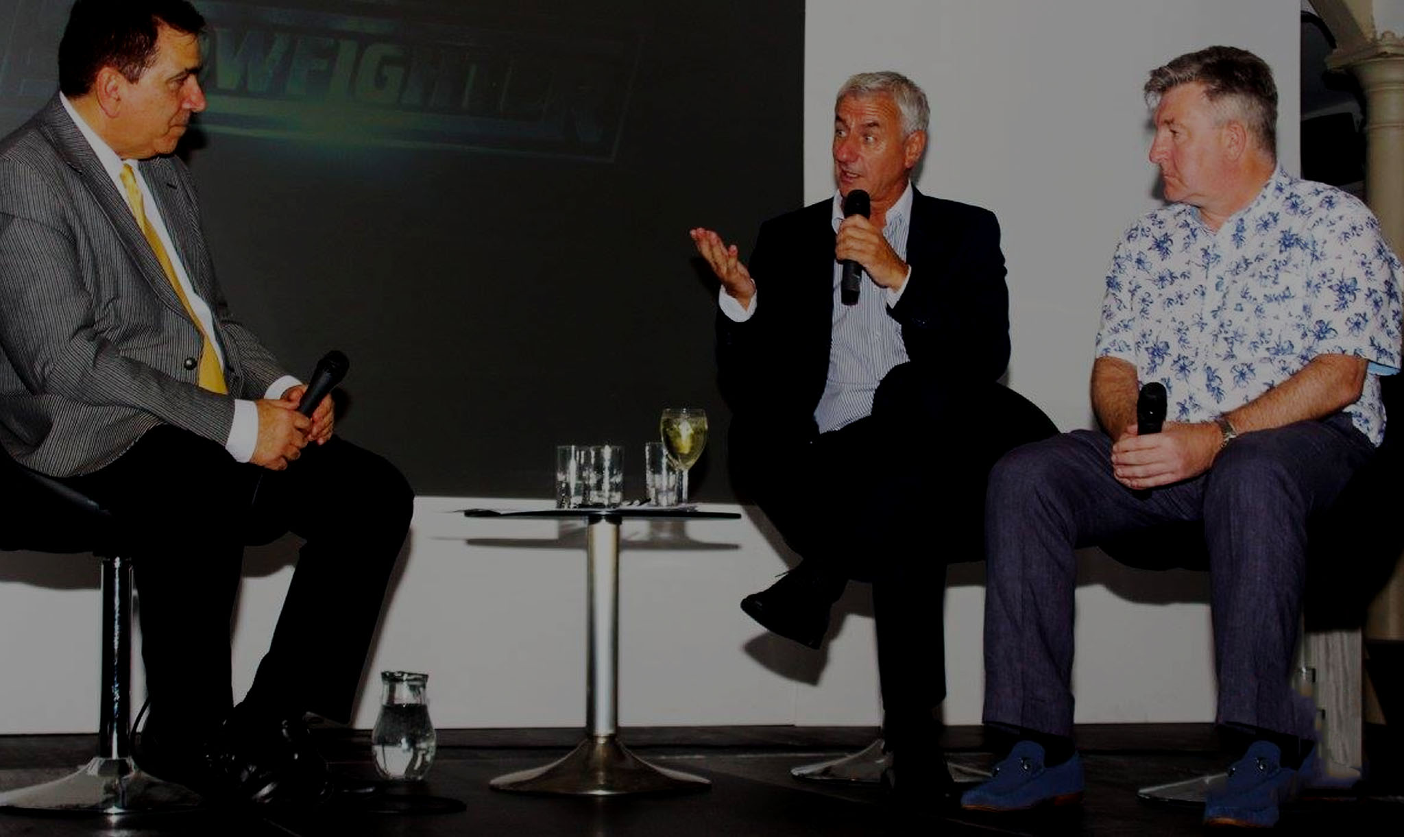 Reds Folklore With Ian Rush & Norman Whiteside - Held at the Ramada Park Hall, Wolverhampton on 13th December 2017.