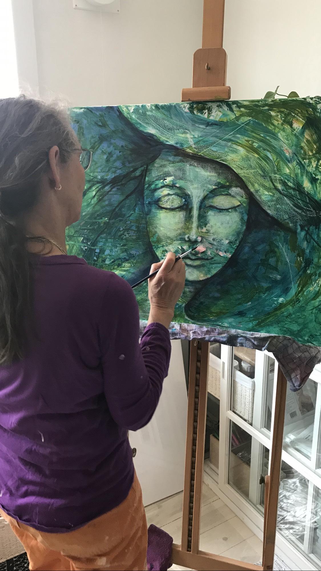 1-dags workshop - Kunstner: Shanaya