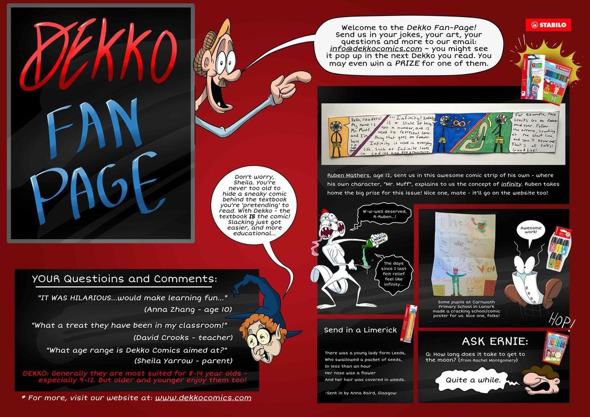 Dekko Comics Fan Page – from Issue 3