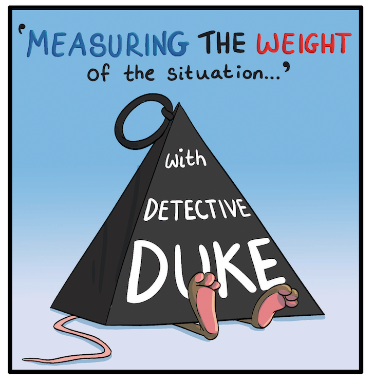 Issue 5, Measuring Weight (Maths)