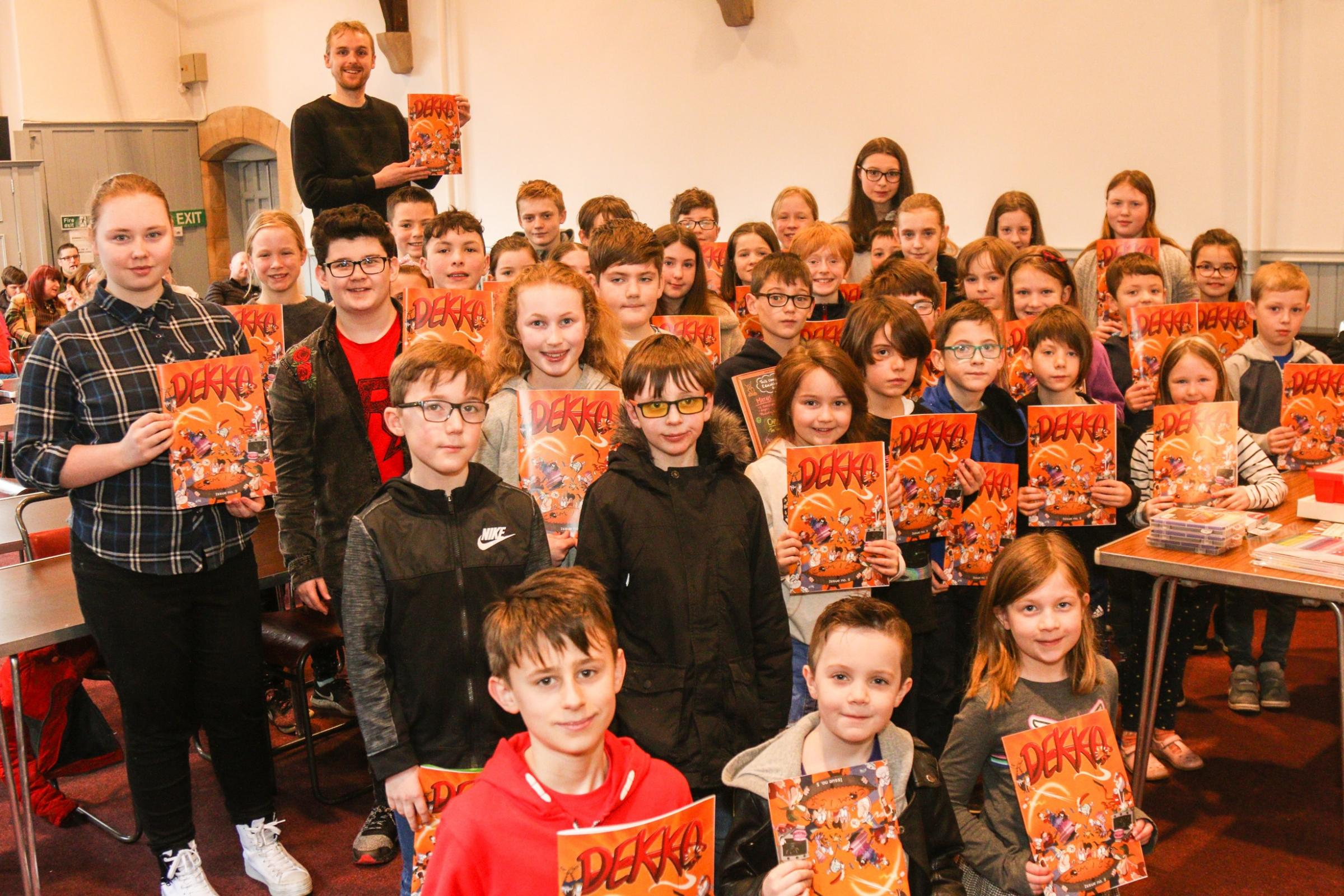 Dekko Workshop in Barrhead (photo from Barrhead News)