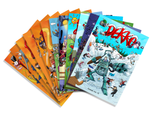 Dekko Comics: short comic narratives turning the school curriculum into naturally accessible entertainment.