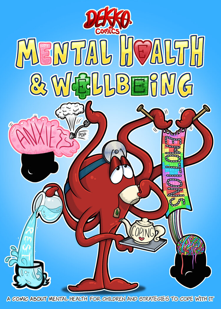 Mental Health and Wellbeing — Dekko Comics