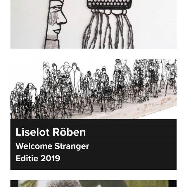 Morgen opent de zomerexpo @fundatiezwolle ! En je kan dus al stemmen op mijn werk. Zou ik gewoon even doen. Ik geef zelfs een linkje om het makkelijk te maken! 👉https://zomerexpo.nl/collectie/2019-189/ . . . #art #sculpture #3ddoodle #3dpen #3ddoodler #pla #refugee #europe #contemporaryart #museum #expo #tentoonstelling #kunst #kunstenaar #femaleartist #mama #toddler #peuter #papa