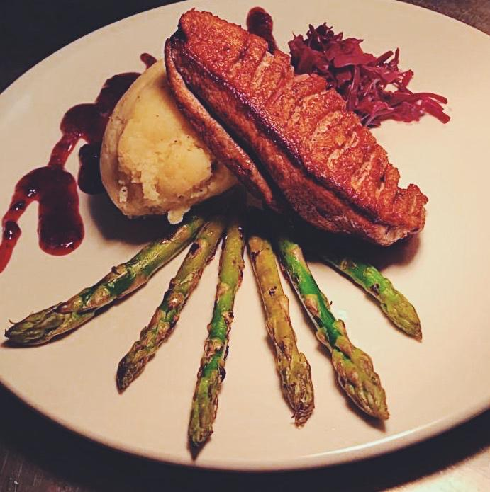 Duck from our christmas menu…