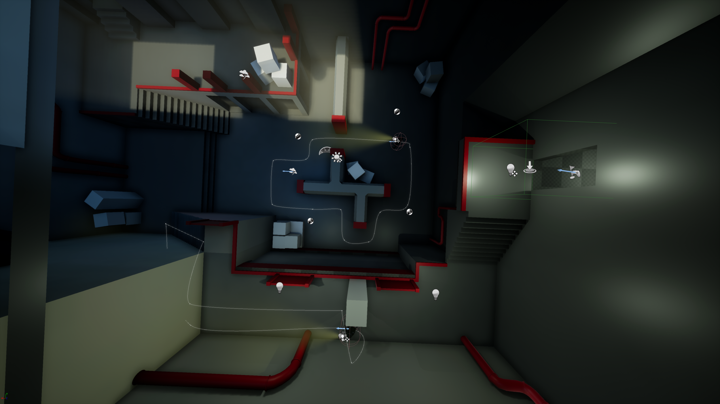 Final version of the level.