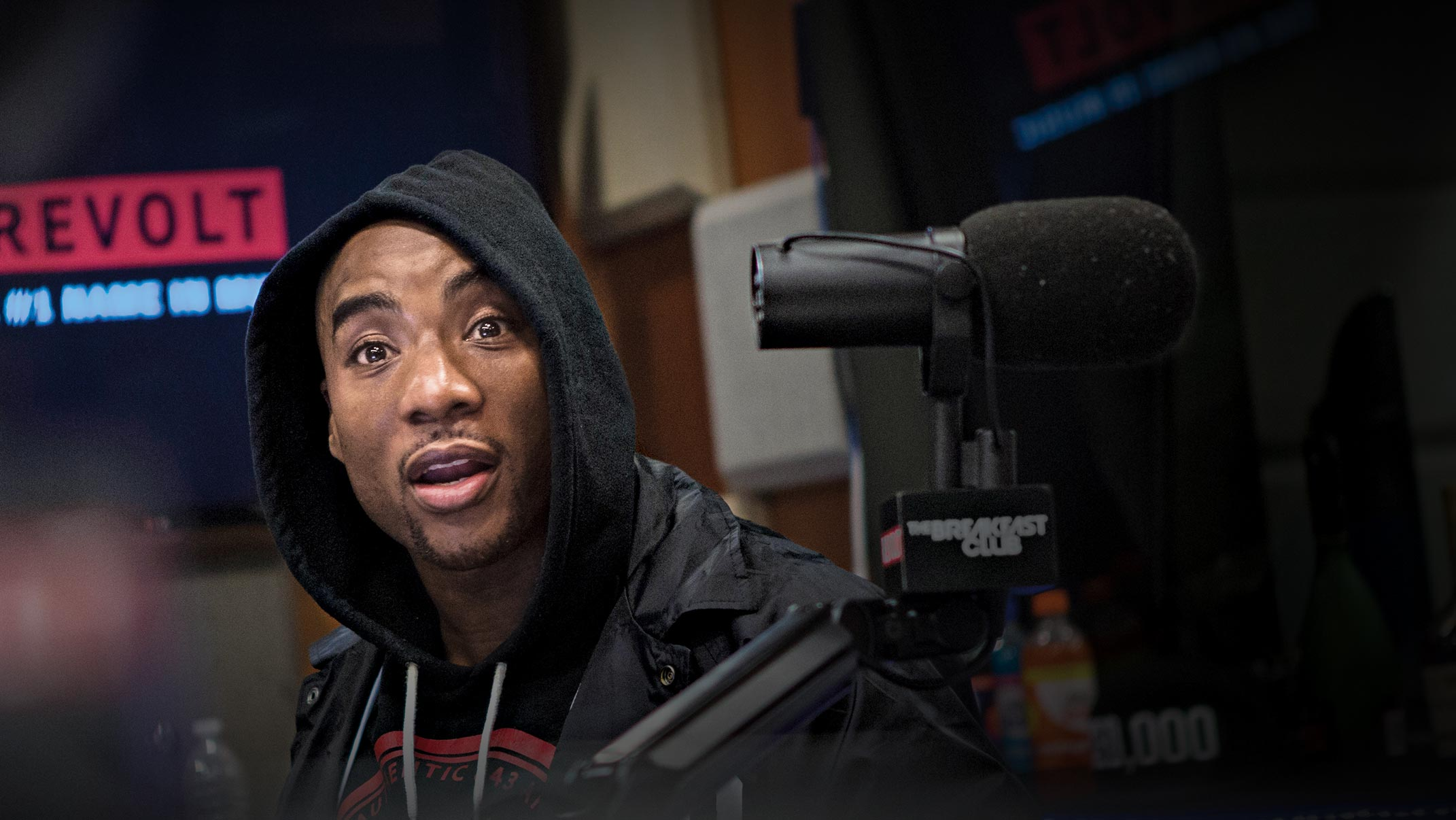 Charlamagne Tha God is best known for being co-host of the nationally syndicated hip-hop iHeartRadio program   The Breakfast Club  . He is also a social media influencer; an executive producer with his own production company, CThaGod World; and co-host of the popular podcast   Brilliant Idiots  . Born and raised in Moncks Corner in South Carolina, Charlamagne quickly rose to become one of today's most unique and compelling media personalities. His point of view and provocative celebrity interviews help drive the daily national conversation about issues related to hip-hop, race, society, and politics. He is the author of the   New York Times     Best Seller   Black Privilege: Opportunity Comes to Those Who Create It  and  Shook One: Anxiety Playing Tricks on Me (release date: Oct. 2018)   .