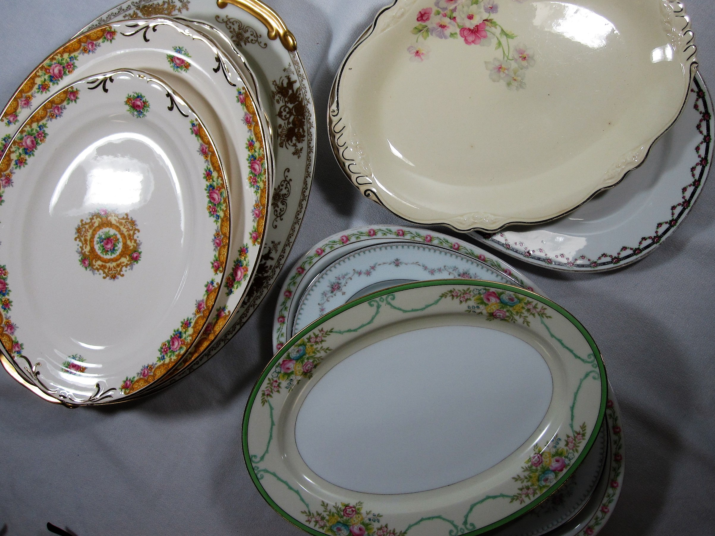 China Serving Platters - DescriptionQuantityRental Price