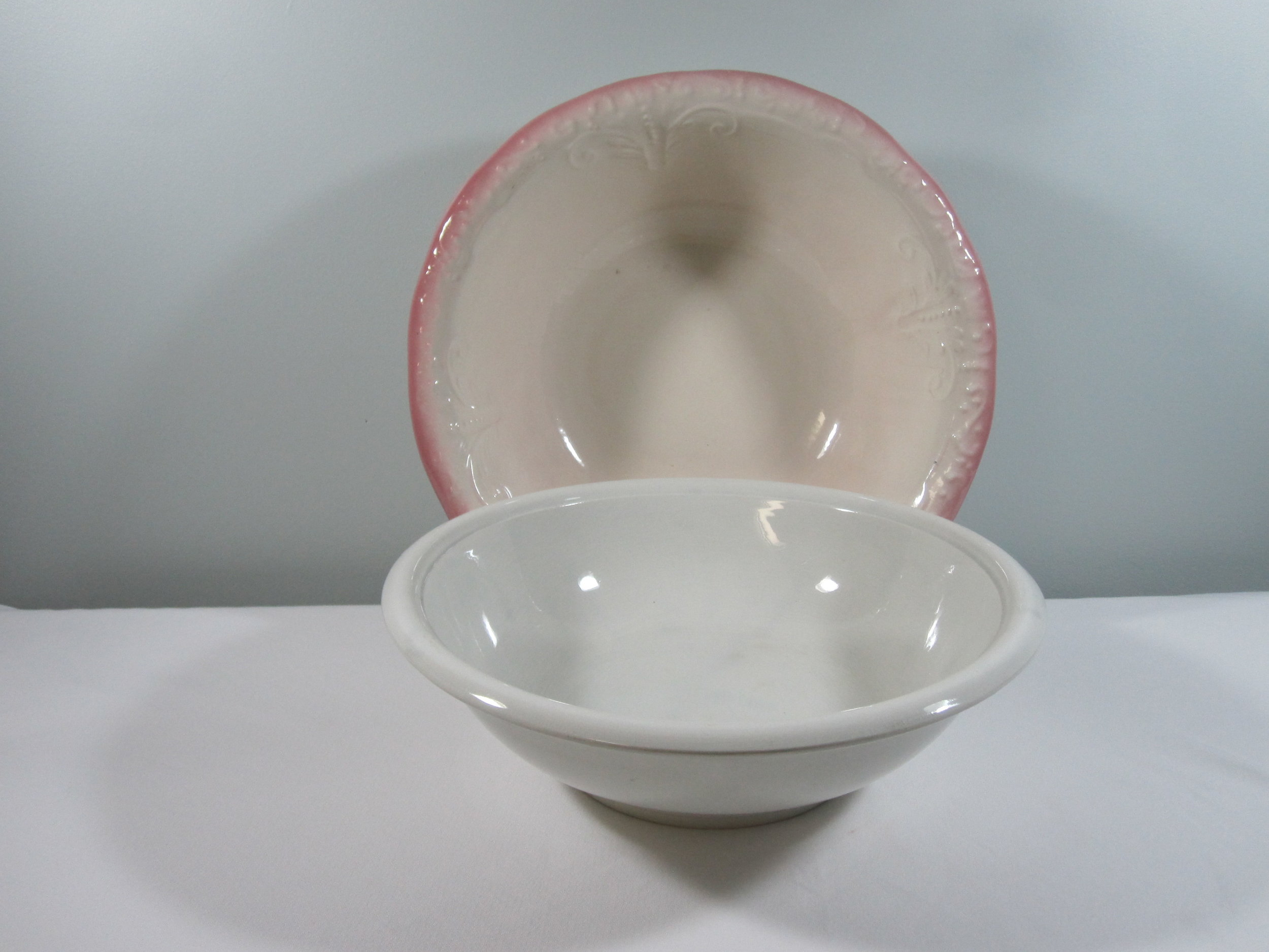 Ceramic Bowls - Description ~ large bowls that can hold a variety of things!Quantity ~ 2Price ~ $8