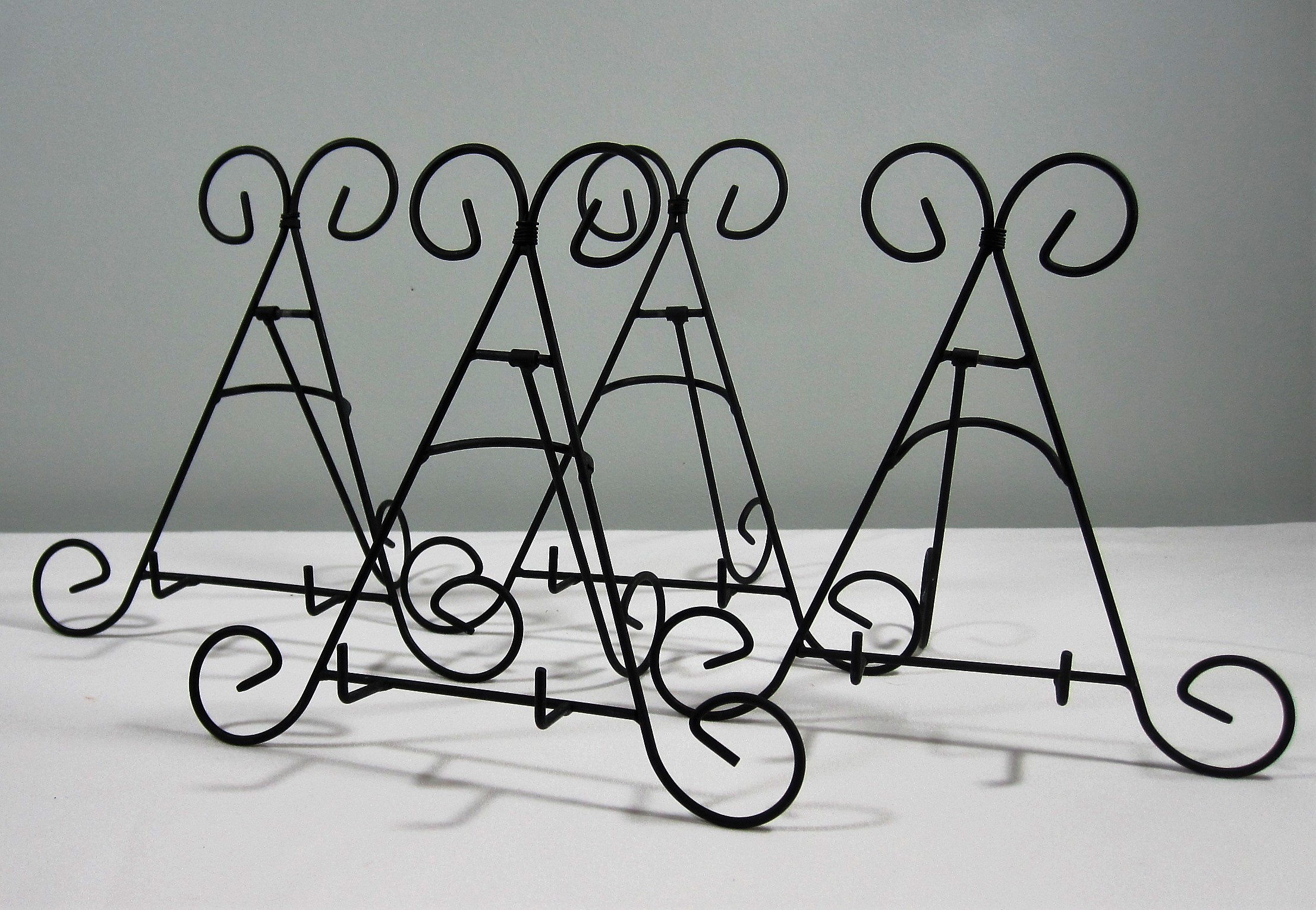 Black Easels - Description ~ short tabletop easels work well with photos, signs and moreQuantityPrice ~ .50
