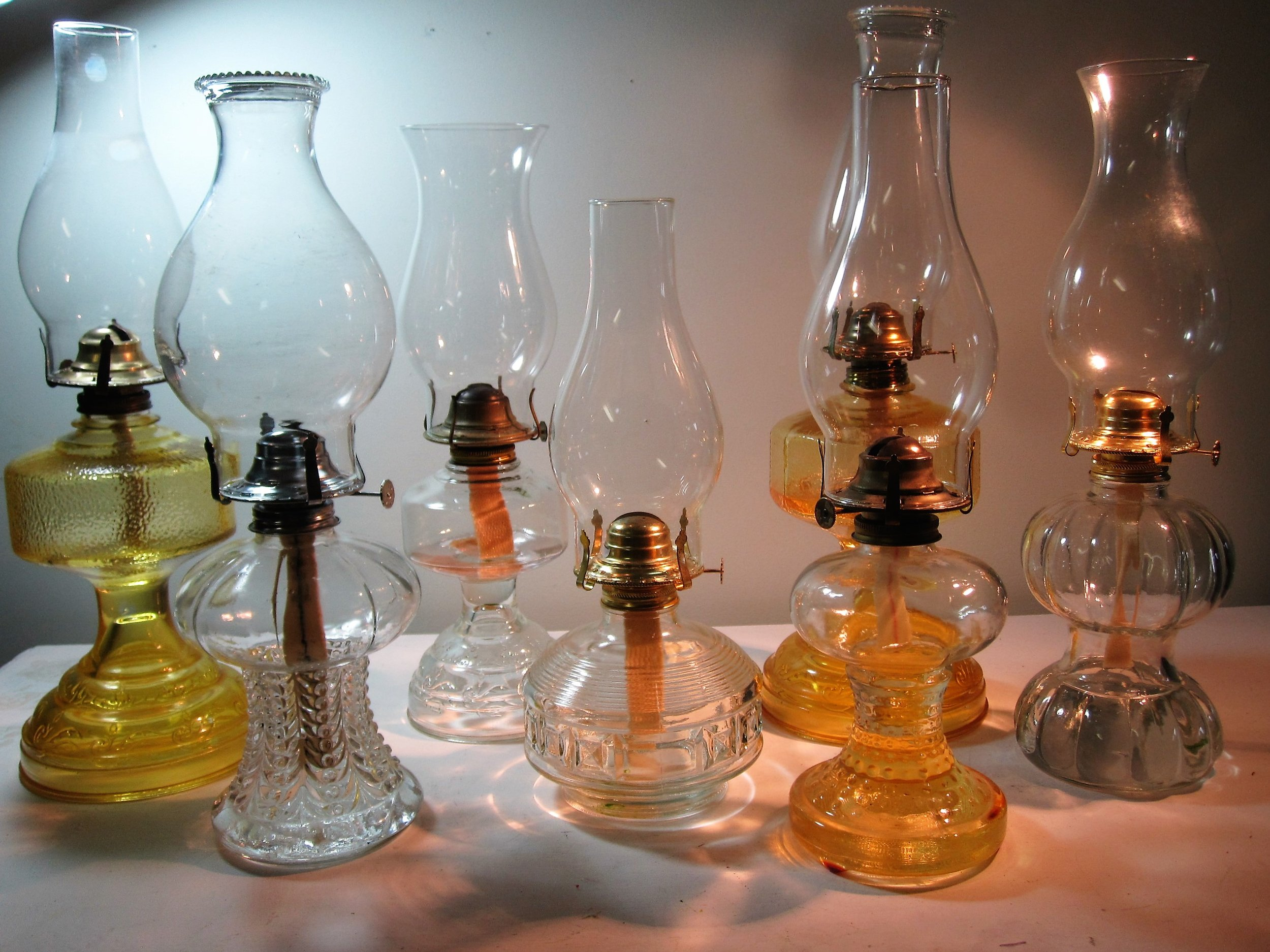 Oil Lamps - DescriptionQuantityPrice