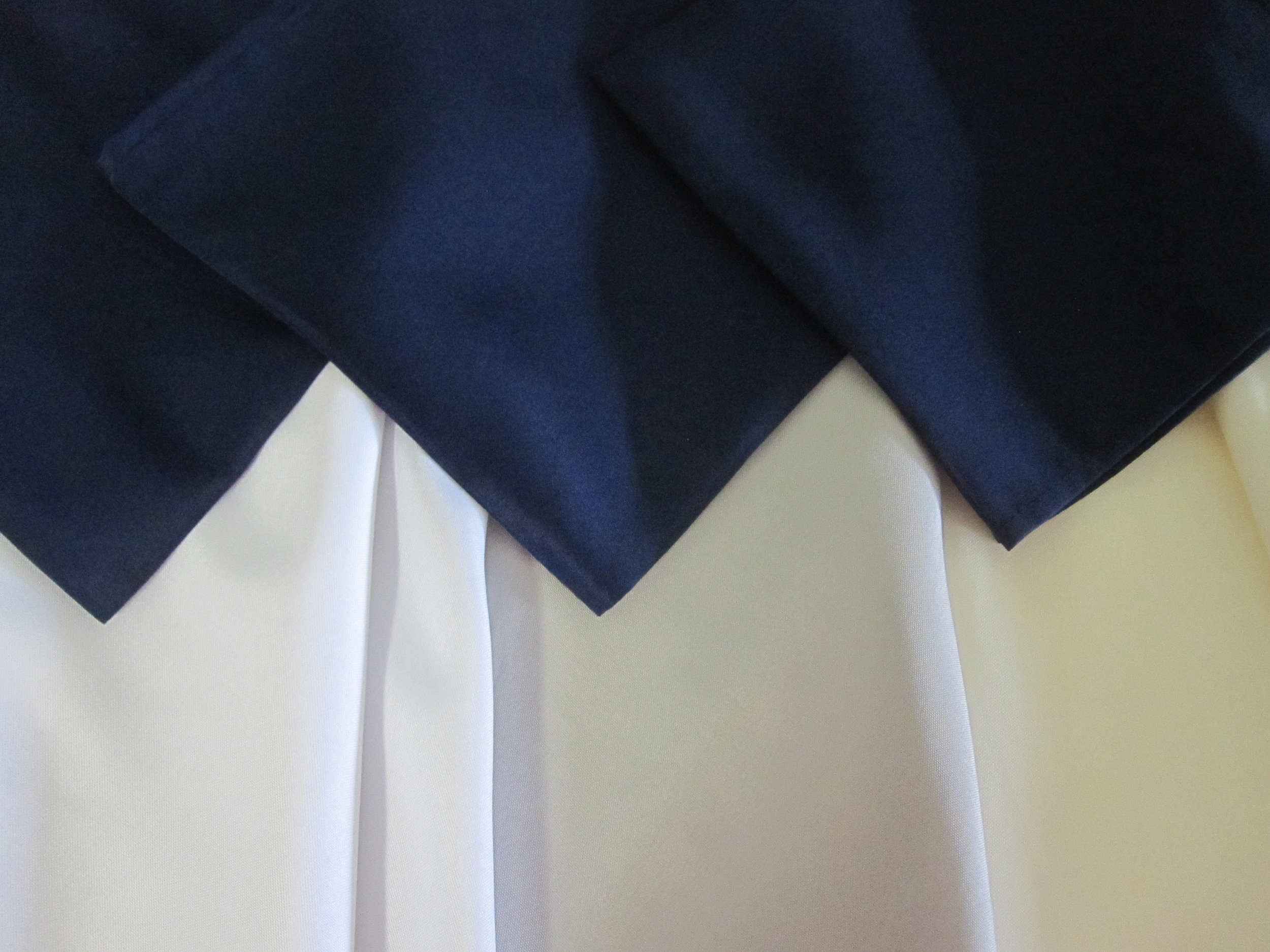 Linens - Description ~ table linens in a variety of sizes; cloth napkins; 50+ colors availableQuantity ~ unlimitedPrice ~ varies by size & color