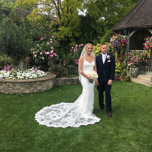 Another wonderful summer wedding #marriage #together #happiness #future #mr&mrs ❤️