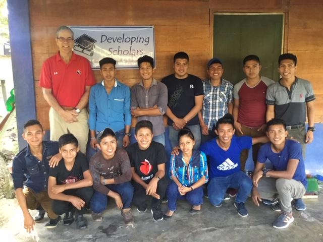Rural Scholarship Students in La Primavera