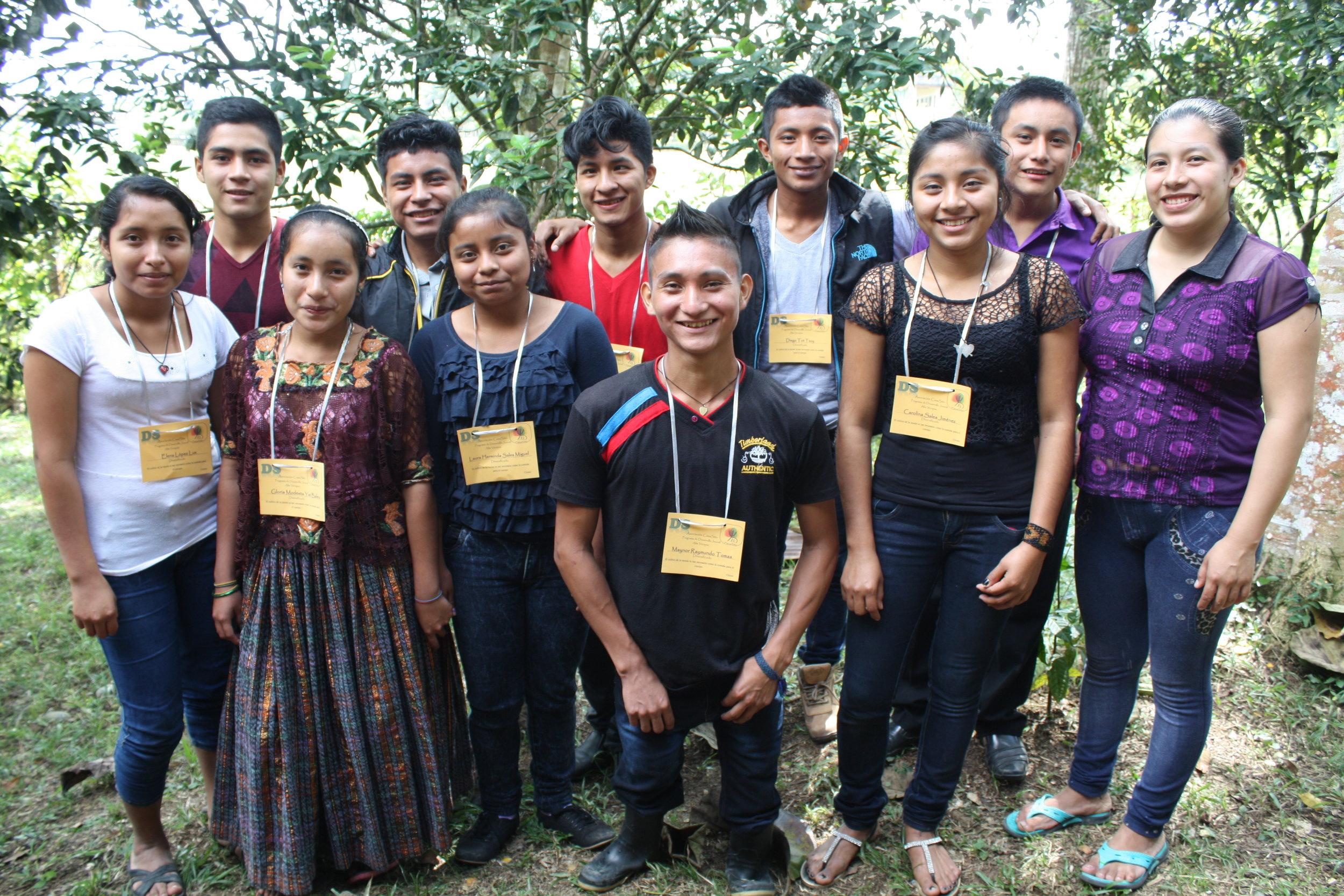 La Primavera Scholarship Students 2018