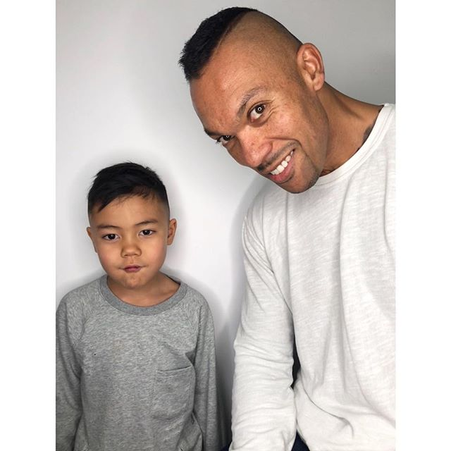 FRESH FAM // After years of rocking the buzz cut, our awesome client Albaro had to prove to his kids that he very much CAN grow hair. After seeing how cool Dad looked with his new cut, son Kingston decided to try out a cut with @sarah_cameron too!  For bookings & consultations:  CALL: 780-989-0204 TEXT: 587-988-8958 . . . . #BarberLife #BarberShop #Oldschool #Barber #Feed #Beard #BarbershopConnect #BarberLove #Barbering #Featured #BarberWorld #MensFashion #InternationalBarbers #ShowcaseBarbers #Pompadour #MensGrooming #MensHair #BeardLife #SkinFade #Yeggers