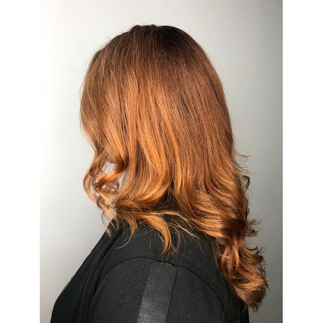 RED HEAD REDEMPTION// 2018 saw the long awaited addition of the Red Haired emoji. In 2019, we want to make every red head to get the recognition he or she deserves! Chris to our resident redhead @_mclarehair for this stunning look.  For bookings & consultations: CALL: 780-989-0204 TEXT: 587-988-8958 . . . . #YEGStylist #YEGHair #YEGSalon #BehindTheChair #BehindTheChairPics #BTC #BTCPics #Yeagers #YEGSalon #KevinMurphy #Davines #RAndCo #WhyteAvenueSalon #ModernSalon #BarberShop #Selfie #HealthyHair #InstaHair #HairDo #Haircut #ColorExpert #Brunette #Blonde #LongHair #HairCare #SalonSelfie #HairSalon #Redhairstyes #redhead #narcity