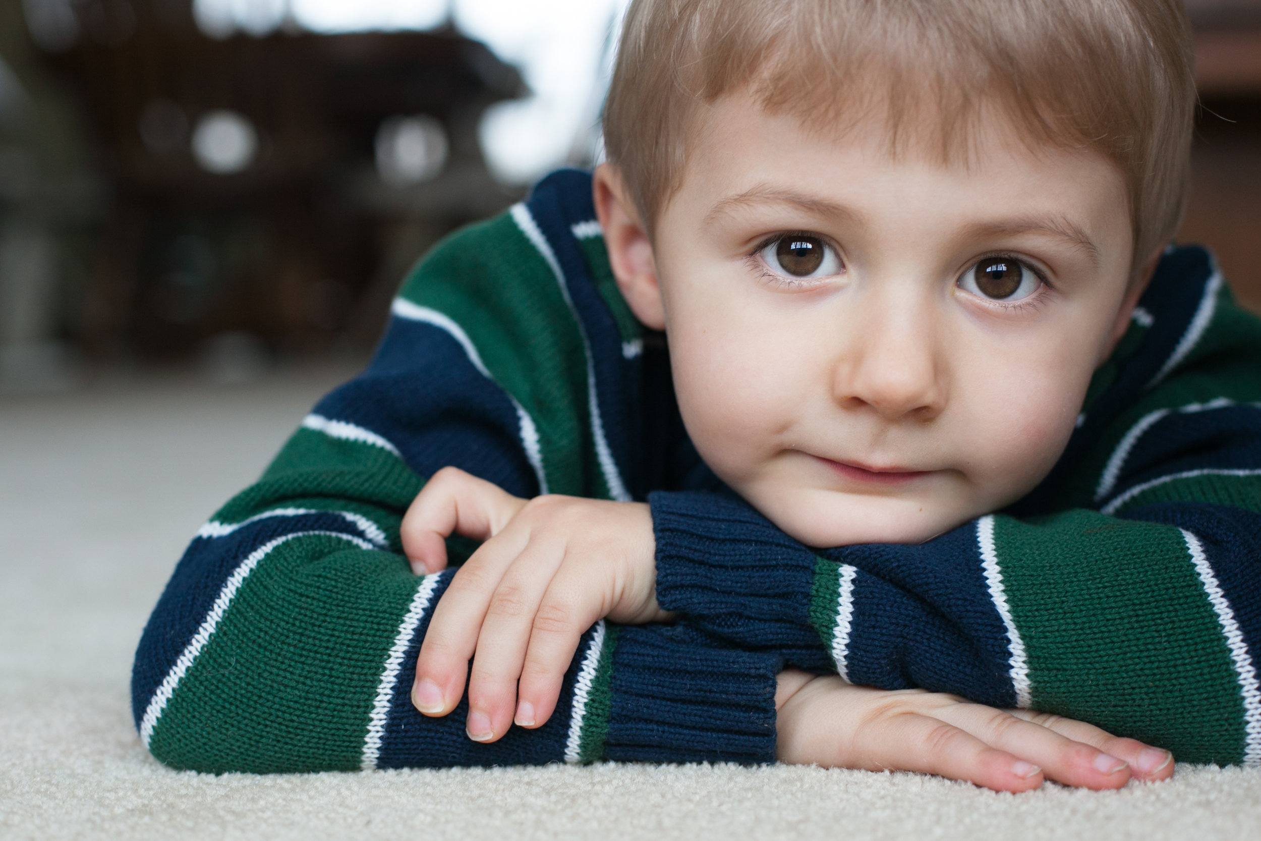 Pittsburgh Family Photographer Jenny Stein color portrait of young boy