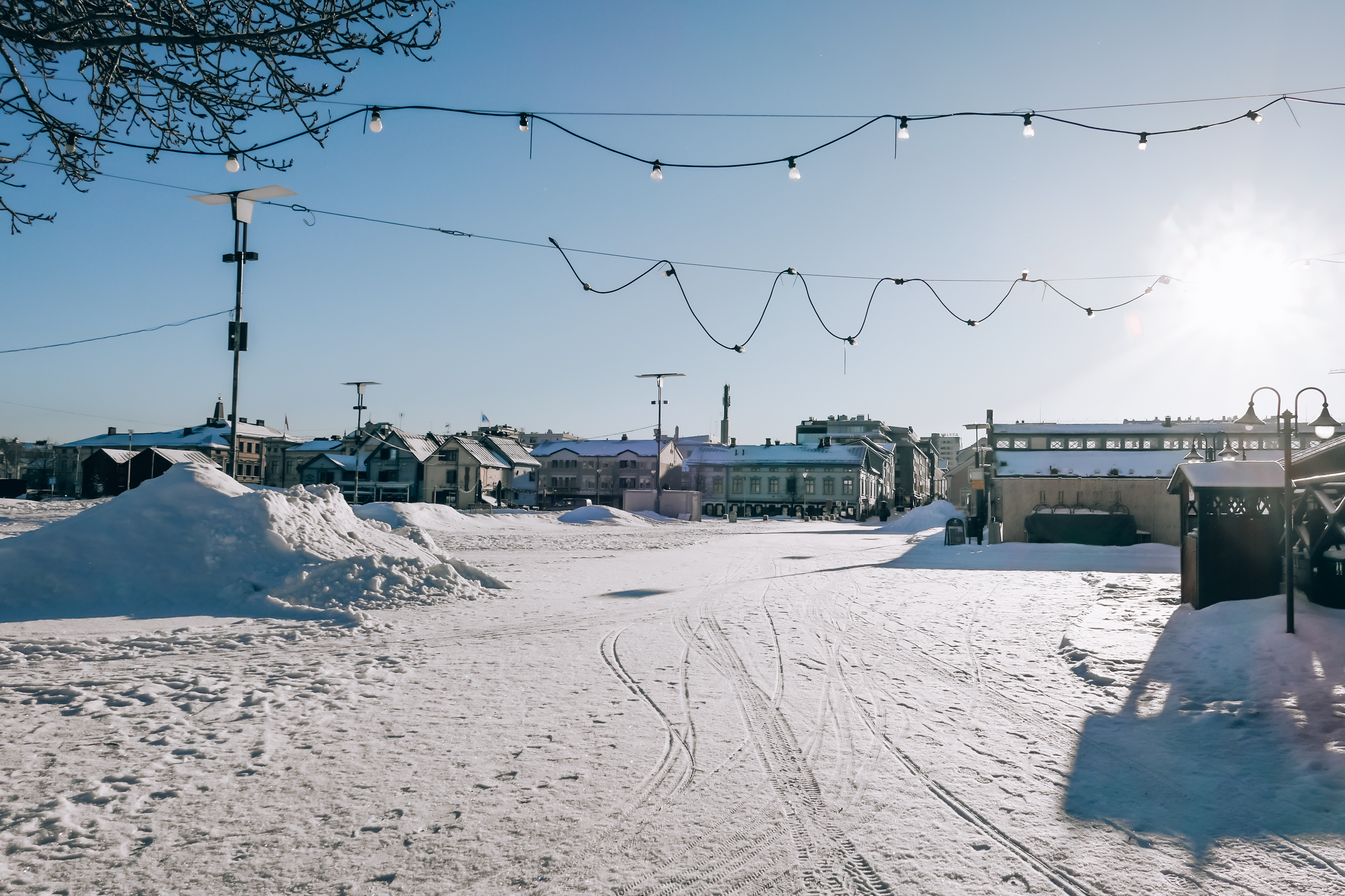 Oulu town square