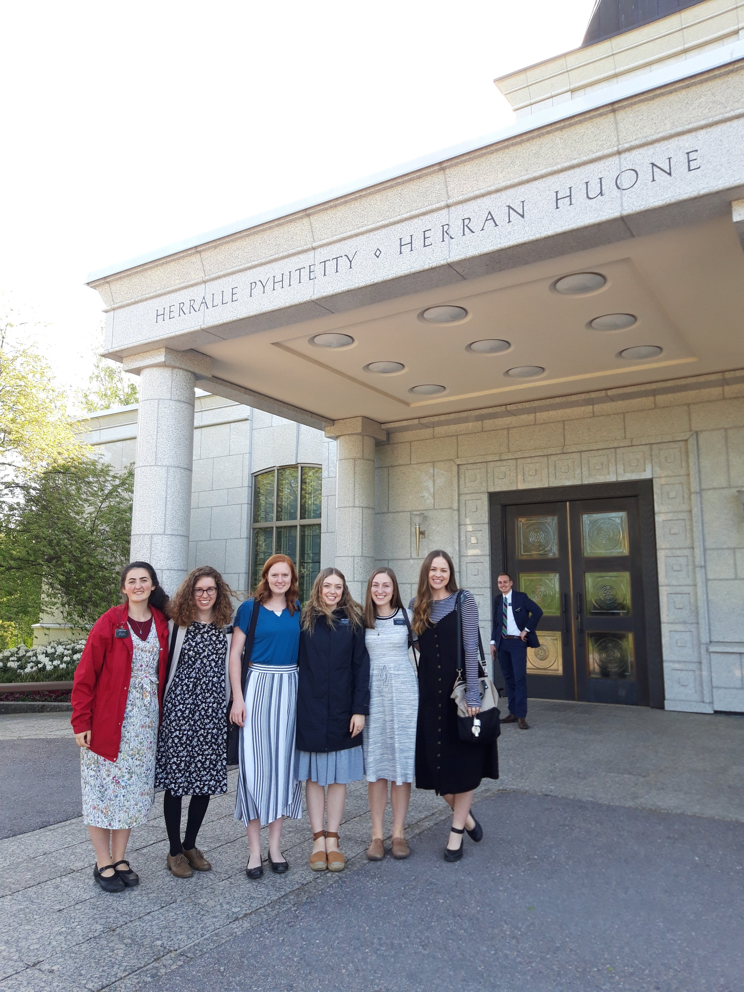 District pic from a few weeks ago at the Finland temple