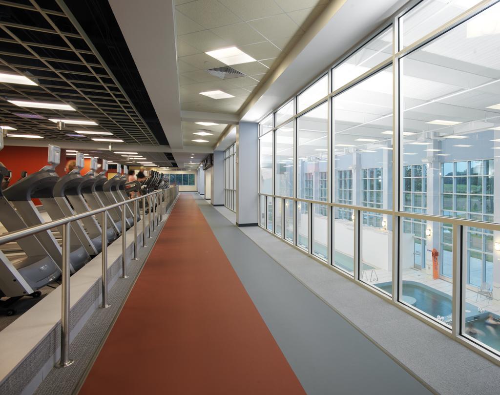 Indoor Walking/Running Track