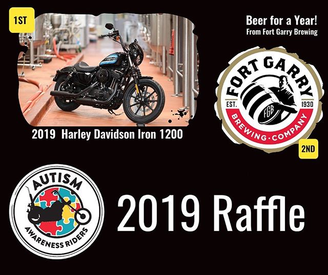 Congratulations Nick and Charlene 🎉 =============================== Lottery winners drawn today at 5pm (LGCA-1081-RF) =============================== Beer for a Year sponsored by Fort Garry Brewing Company (Official): ticket 2493, Charlene Peeters =============================== 2019 Harley Davidson Iron 1200: ticket 1599, Nick Bockstael ————————————————————— 🙌 Thank you to all of the lottery sponsors!