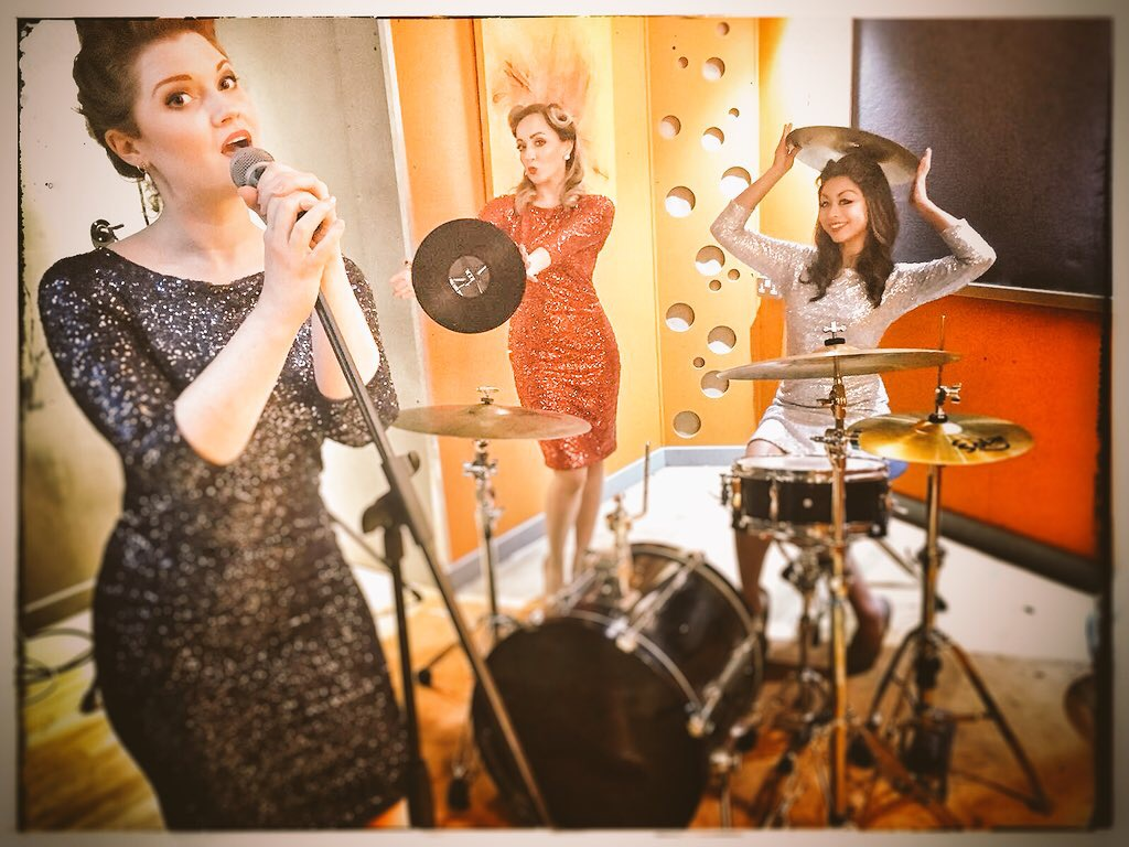 Kira, Sally and Julie  Photo credit: Sally White Creative