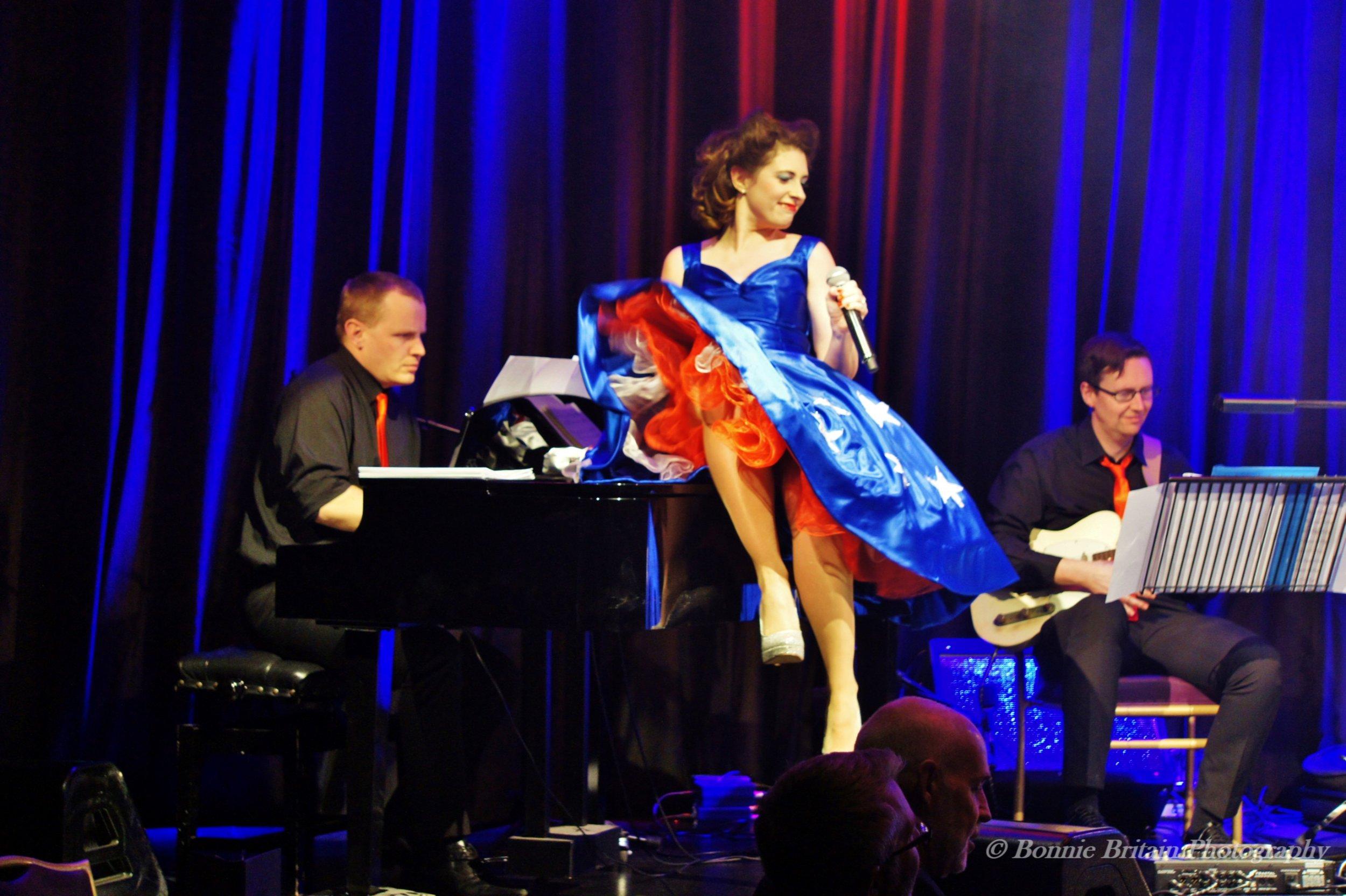 Ashleigh at Live at the Hippodrome  Photo credit: Bonnie Britain