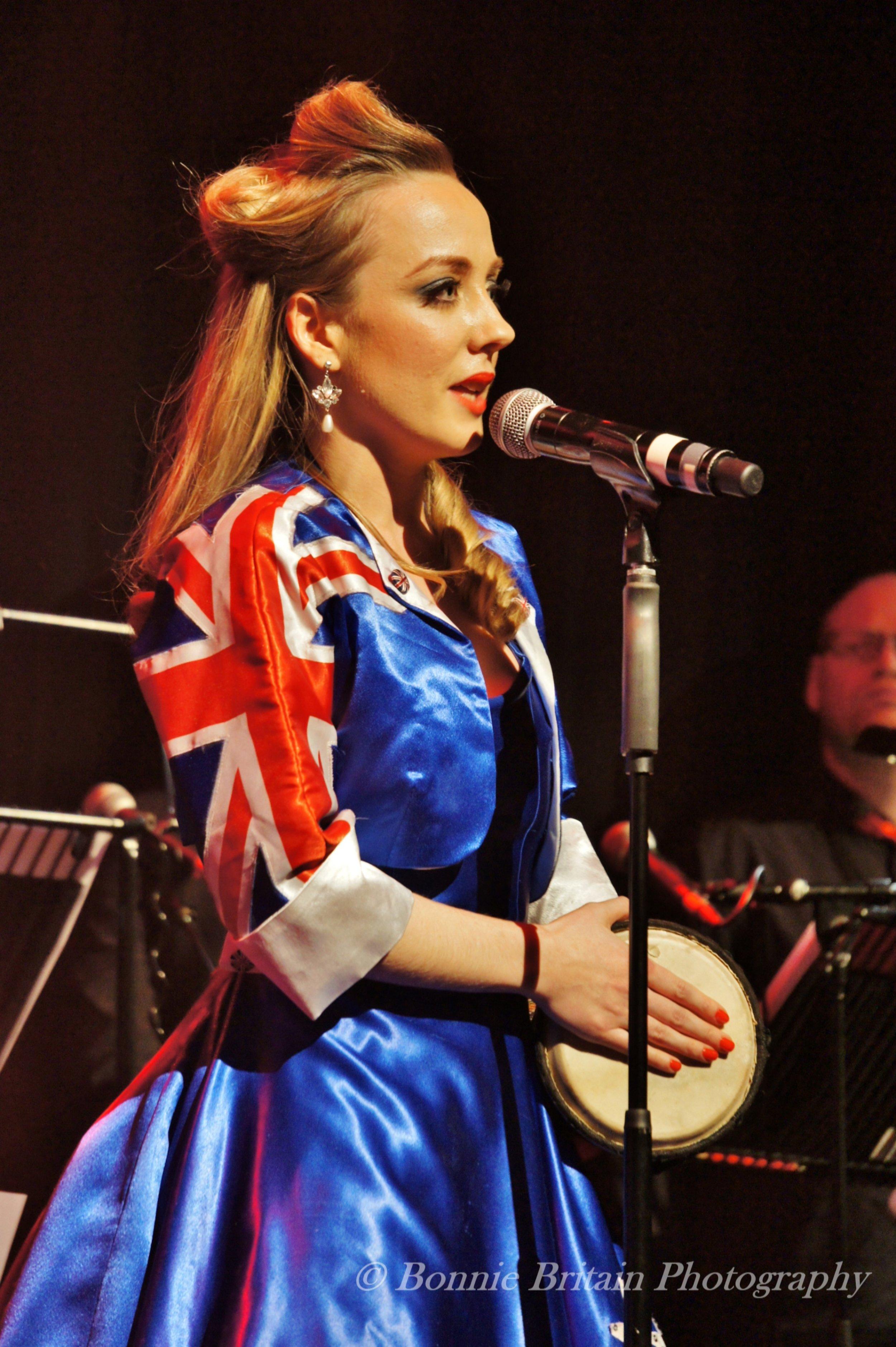 Sally at Live at the Hippodrome  Photo credit: Bonnie Britain