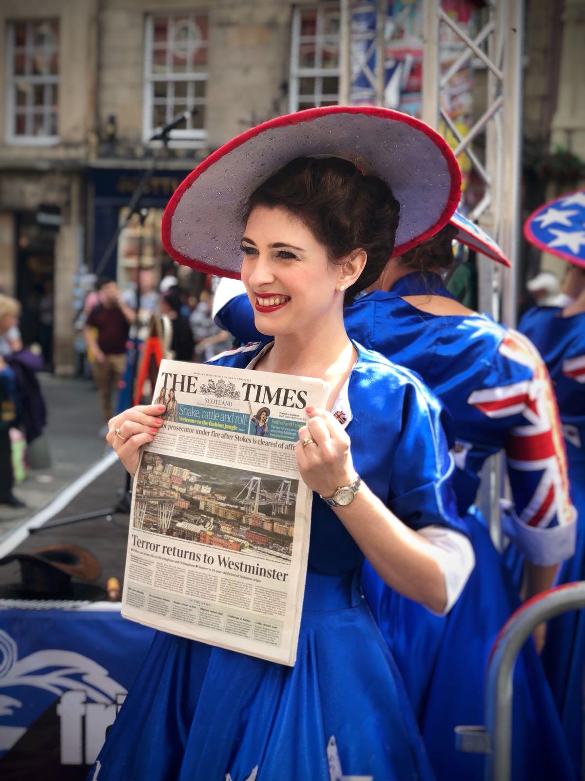 Ashleigh  The Times
