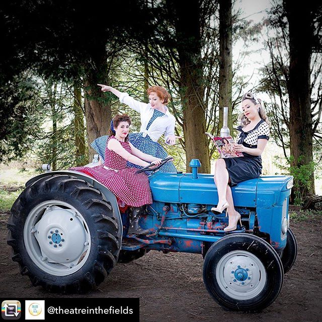 "Repost from @theatreinthefields using @RepostRegramApp - ***MUSIC TO OUR EARS!*** Super excited to introduce The Girls From Oz, who will be performing on The BEYOND STAGE! *** The Girls From Oz are 3 sassy singing Sheila's from Australia (based in London). Full of sass and armed with killer harmonies, these ladies are a force to be reckoned with. They can sing, they can joke and they can sure put on one helluva an entertaining evening! With their unique 3-part harmony spin on songs by Aussie legends like Kylie, Men At Work, John Farnham & Vegemite, as well as some well known Vintage Classics from the 1920s through to the 1950s, all entertainment should be this fun!  Described as a ""joyous collision between the Great Australian Pop songbook & vintage swing. Like if Glenn Miller went on a date with Kylie Minogue."" - Jordan Brown, music producer. ""It's a clichéd saying these days, but this is a vocal harmony group that could read the phone book (do they still exist?) and make it sound beautiful. An uplifting night out."" - LondonTheatre1.com ""As feisty a female trio as you'll see on stage"" - MusicTheatreReview.com *** Let them serenade you with sass on the 20th July 2019! Tickets at theatreinthefields.com  LOVE AND HUGS THE TEAM XOXO"