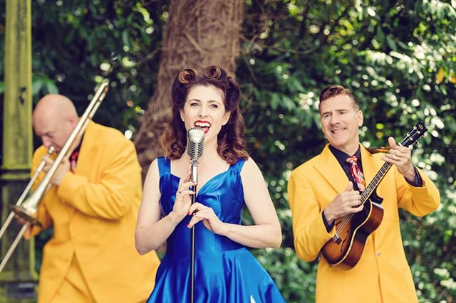 Have you booked your tickets to come see us in August? Join us this Sunday the 4th with the @jiveaces at the Summertime Swing Festival for some jazzy harmonies and a whole lot of fun! Or join us for a true blue Aussie celebration with a twist at the Havering Show, 25th and 26th of August!  Check out our website for more details www.thegirlsfromozgroup.com  See you there! X