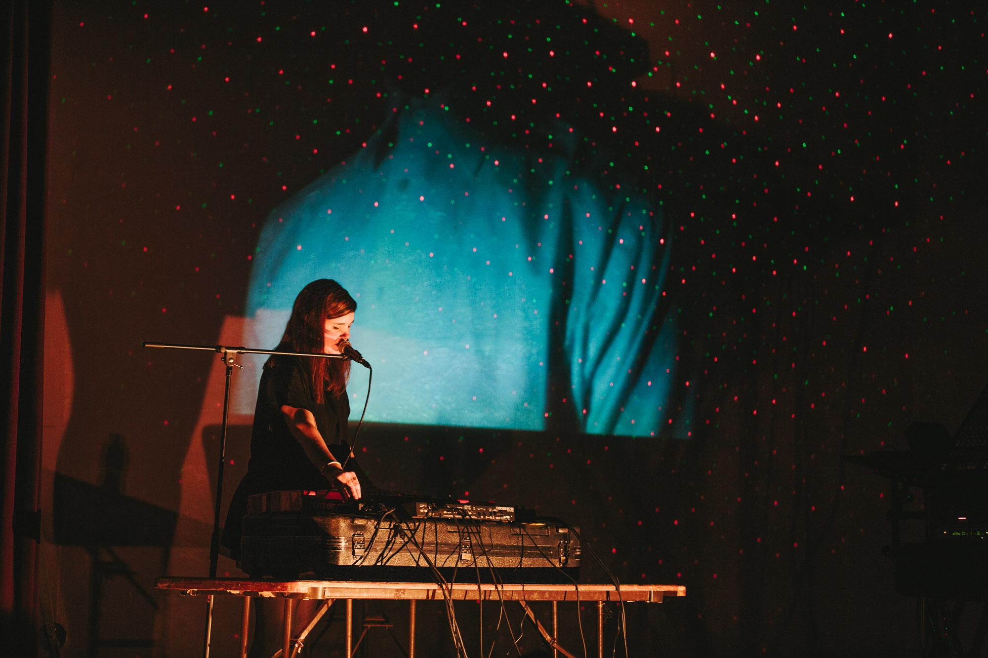 Julianna Barwick – Highland Park Ebell on May 5th 2016 (photo by Yoon Kim)