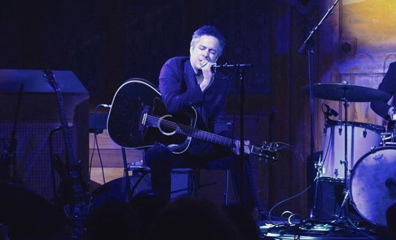 "M. WARD played songs from ""Lady in satin"" on valentine's Day 2018 (photo by @ehlmannk)"