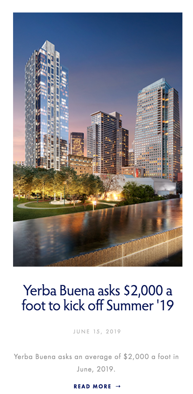 181 Fremont News | Condo Weekly