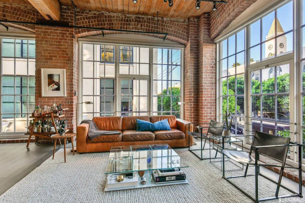 1 South Park - an exclusive, boutique loft building on 2nd Street, San Francisco, overlooking the Clock Tower Lofts.