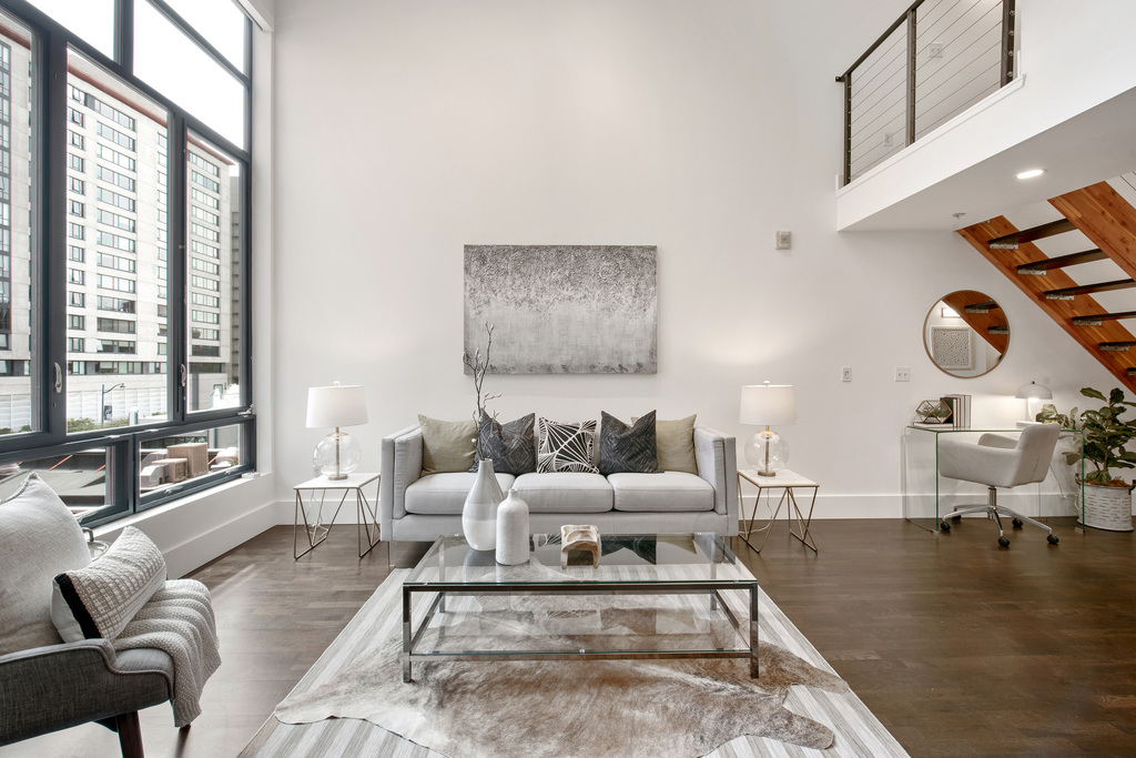 Sold loft at 200 Townsend after one privately marketed, off-market open house.