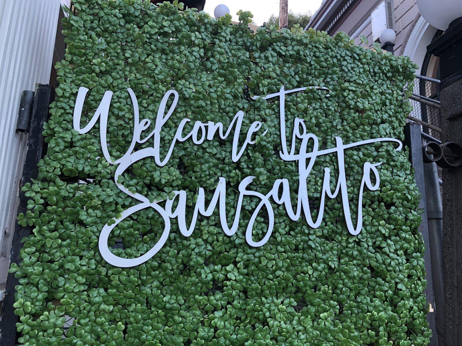 Welcome to Sausalito
