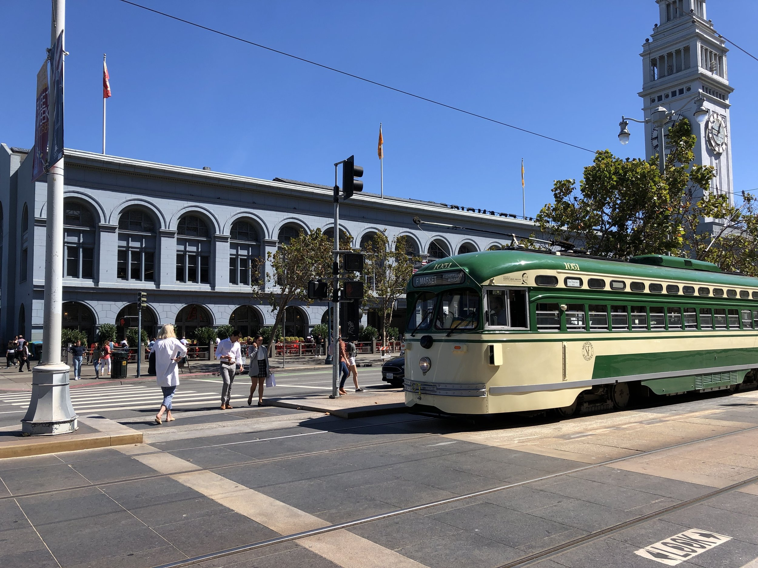 Front of the Ferry Building
