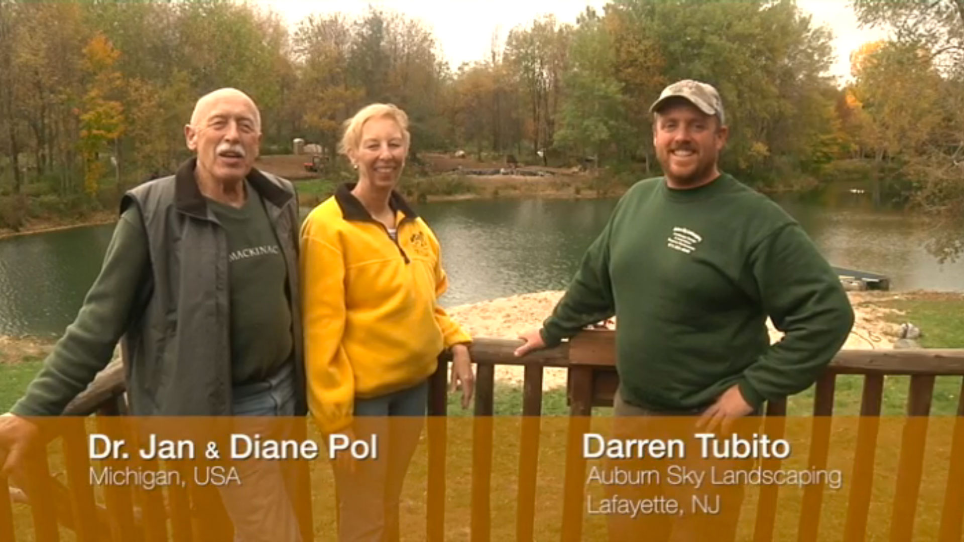 In Central Michigan, transforming an ordinary body of water into a living, breathing organism.