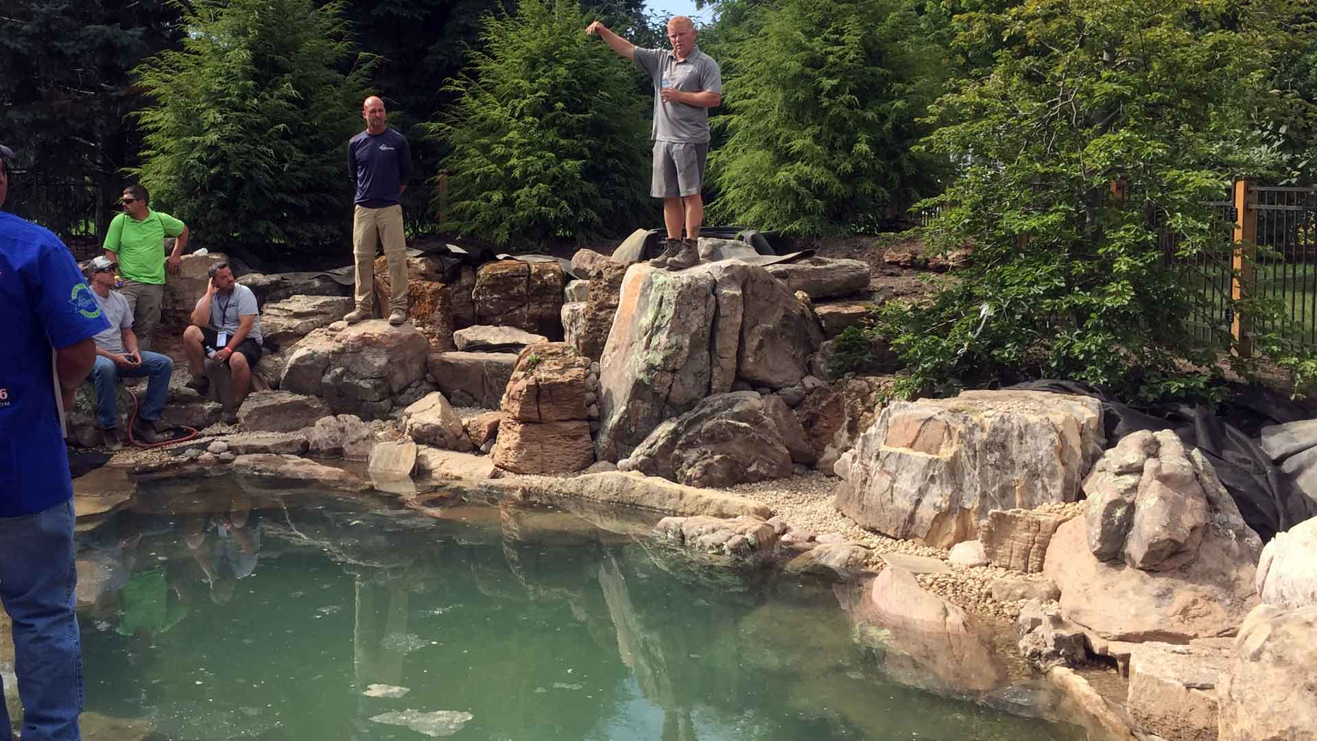 Why Hire A Certified Aquascape Contractor Auburn Sky Landscaping