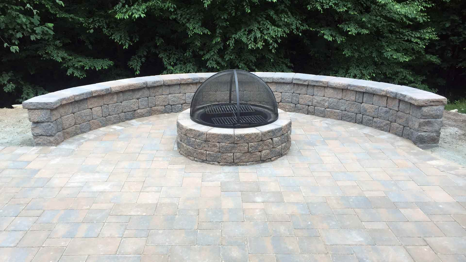 Fire Pits Outdoor Fireplaces Auburn Sky Landscaping
