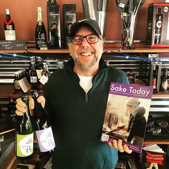 Just got in two delicious varieties of Yuho sake as recommended by my friend Ry, who publishes @saketoday magazine. A recent cover featured the president of the brewery that makes Yuho. She's not afraid to get her hands dirty and brew! If you come in, grab a bottle and check out the feature article about her. #sake #nihonshu #berkeley #northberkeley #northbrae