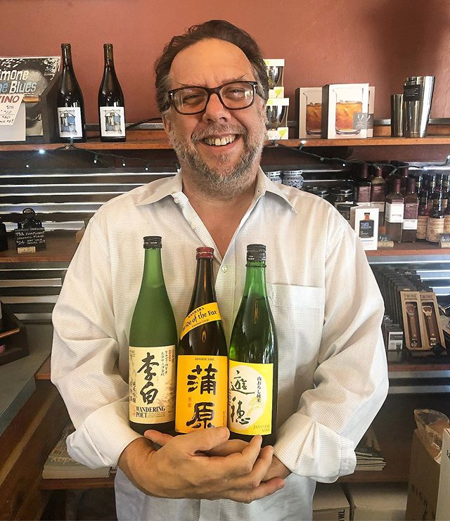 For the sake of sake, come get some of the premium stuff! Newly restocked: Rihaku's Wandering Poet, Kanbara's Bride of the Fox, and Yuho's Rhythm of the Centuries. Pick up a copy of Sake Today magazine (@saketoday) while you're here, and try pairing these with non-Japanese food. #sake #berkeley #northberkeley #bottleshop