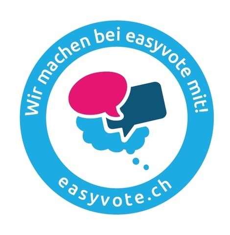 Abstimmen leicht gemacht! - Deine Stimme zählt!Für Jugendliche zwischen 18 und 23 JahrenMehrmals im Jahr flattert seltsame Post ins Haus. Es handelt sich um die Abstimmungsunterlagen – leider oft schwer verständlich und sehr kompliziert. Durch die Abstimmungen wird unsere gemeinsame Zukunft bestimmt und du hast die Möglichkeit, diese mitzugestalten. Dafür ist es wichtig, die Inhalte der Abstimmungsunterlagen zu kennen.Gemeinsam diskutieren wir jeweils etwa zwei Wochen vor der Abstimmung einige ausgewählte Vorlagen. Wir besprechen die momentane Situation und tauschen Vor- wie auch Nachteile einer möglichen Gesetzesänderung aus.siehe auch www.easyvote.ch