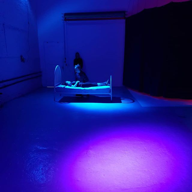 Come see the show this week! Nocturnes premieres this Thursday :D . . . #immersivetheatre #nyc #dance #dreams #nocturnes #experiencenocturnes #art #show #nuageproductions #opendoors #unconscious #sleep #experiential #2019 #aprilshow⁣