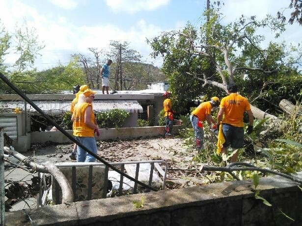 Disaster Relief New England in Puerto Rico - by Janet Stowell