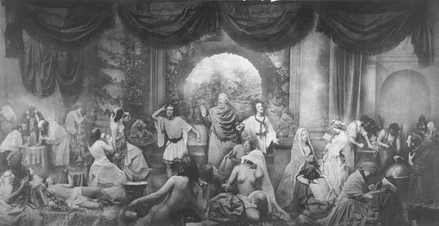 Two Ways of Life - Oscar Rejlander 1857