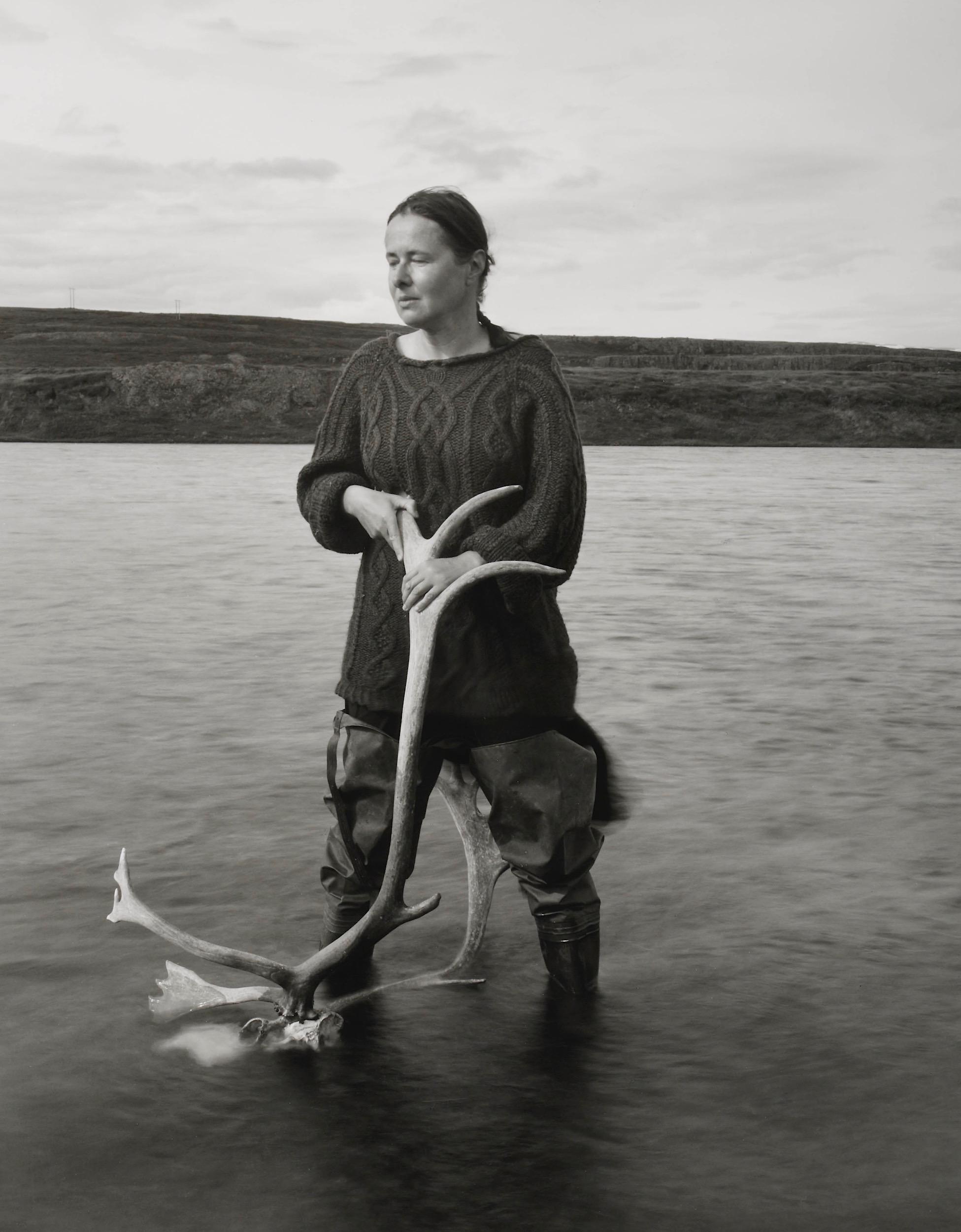 01_Wading. Self Portrait.Kleppjárnsstaðir, Iceland. 2018 .jpg